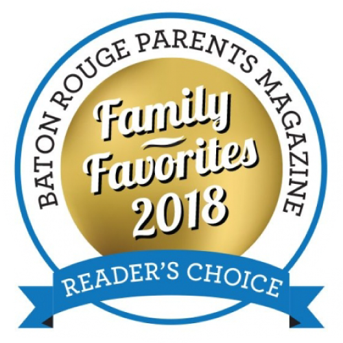 Baton Rouge Parents Magazine Reader's Choice badge