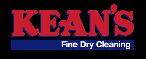 Kean's Fine Dry Cleaning logo